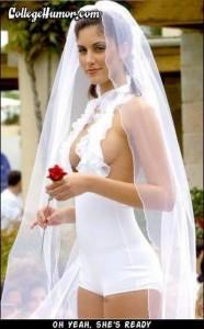 10 Trashiest Wedding Dresses 8